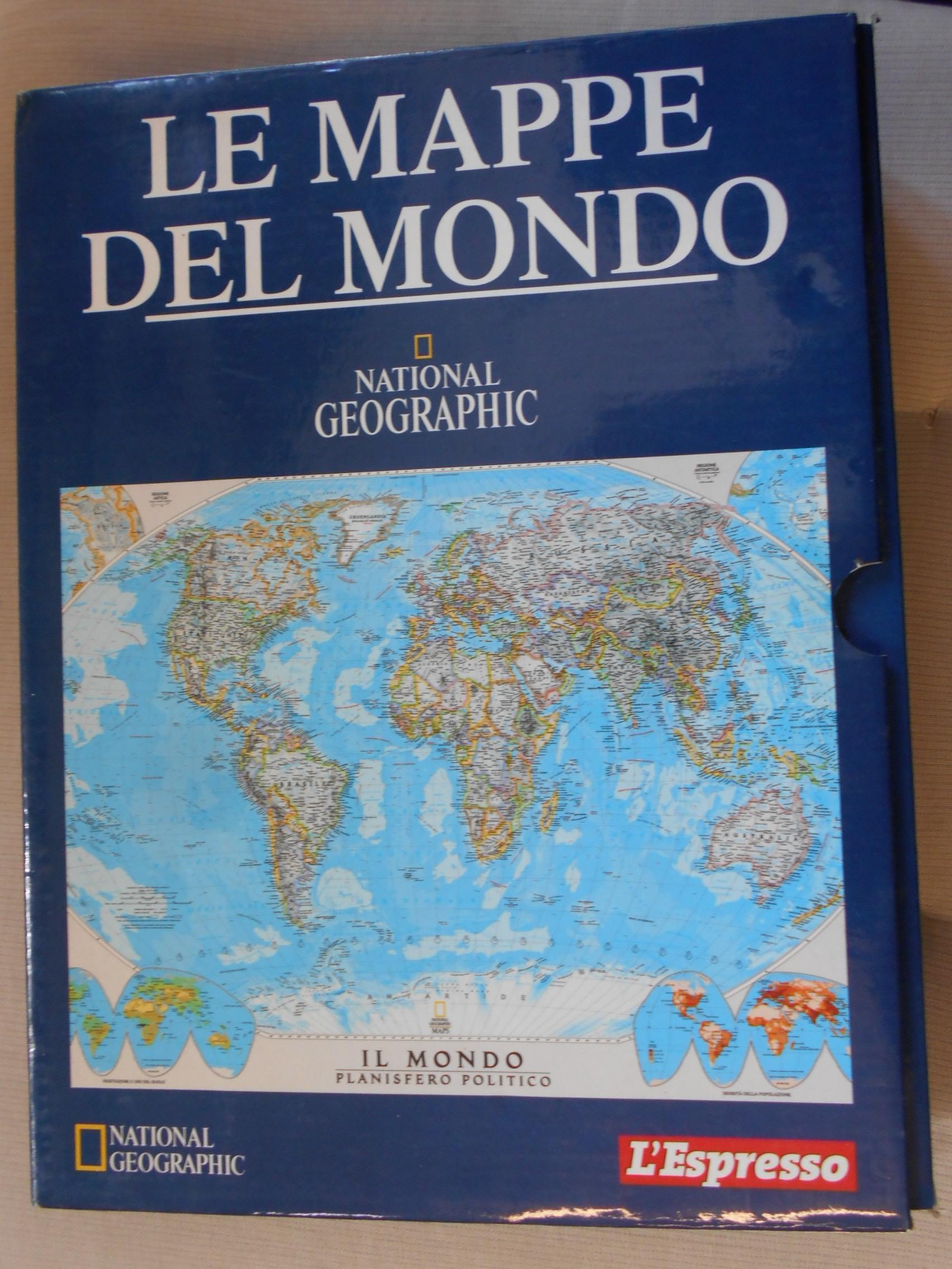 Cartina Mondo National Geographic.Le Mappe Del Mondo La Collezione Del National Geographic Aavv Ebay